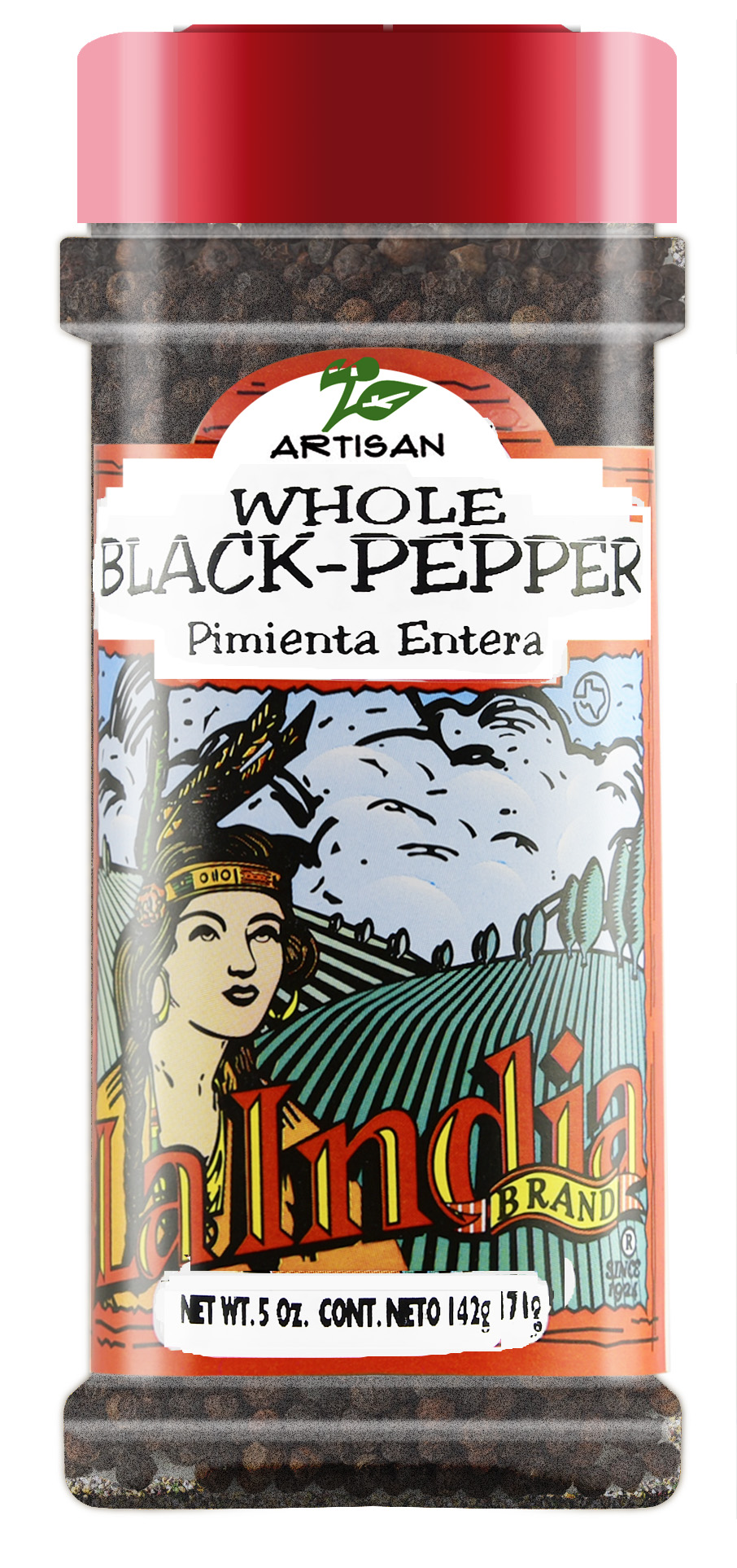 Black Pepper Whole Shaker (unit)