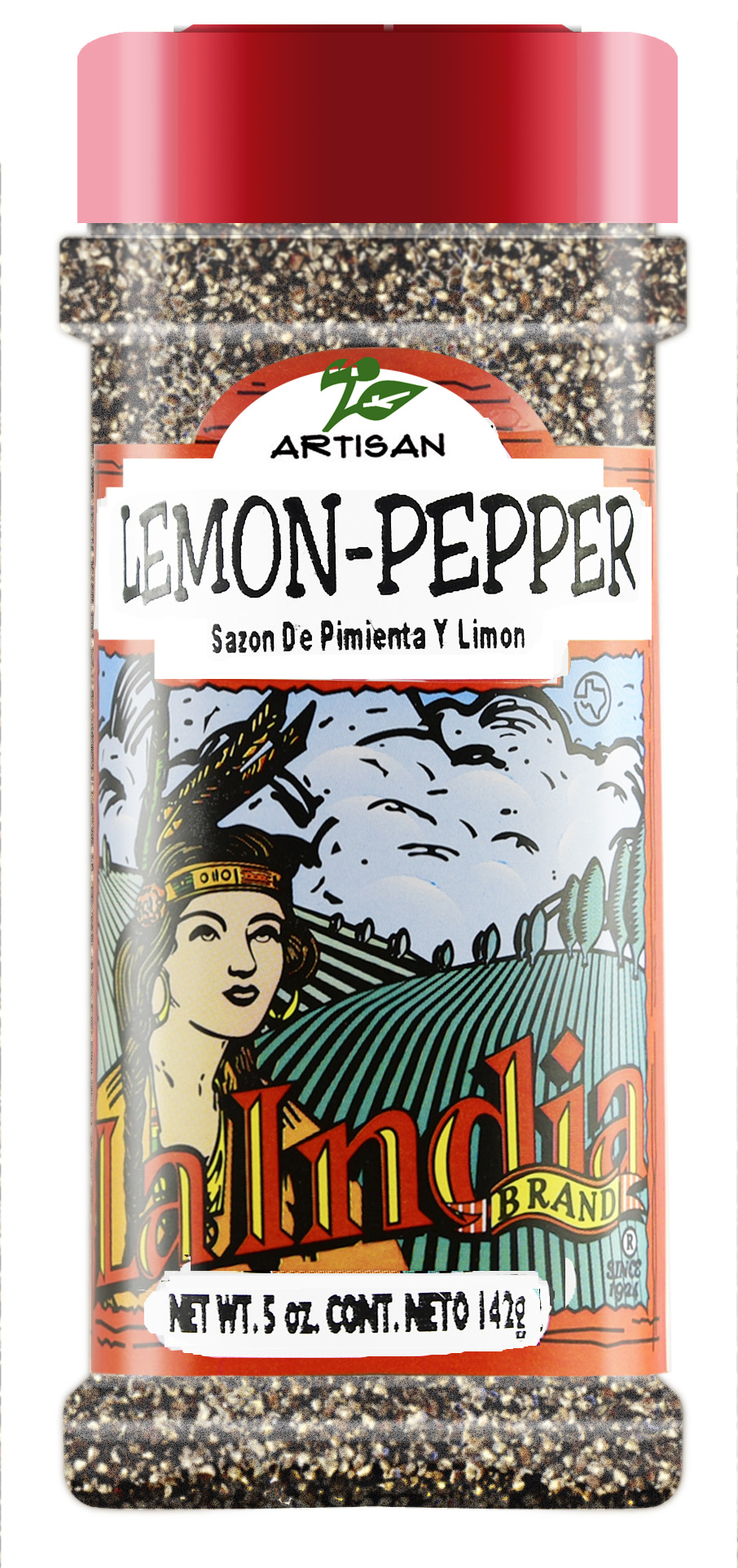 Lemon Pepper Seasoning Shaker (unit)