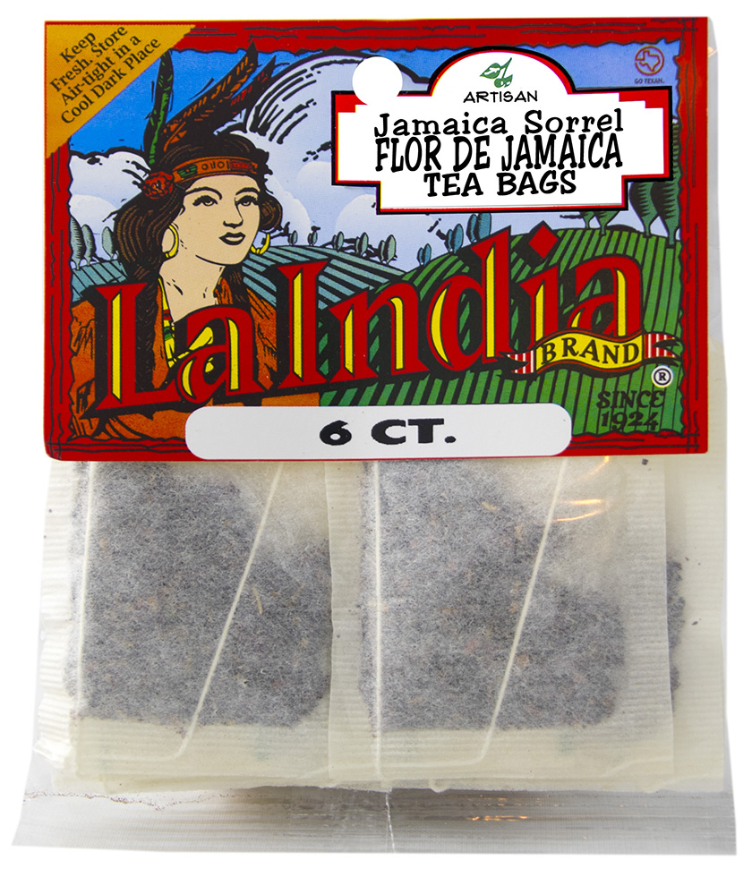 Jamaica Tea Bags Cello Bags 6 units (each)