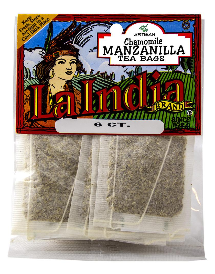 Manzanilla Tea Bags Cello Bags 6 units (each)