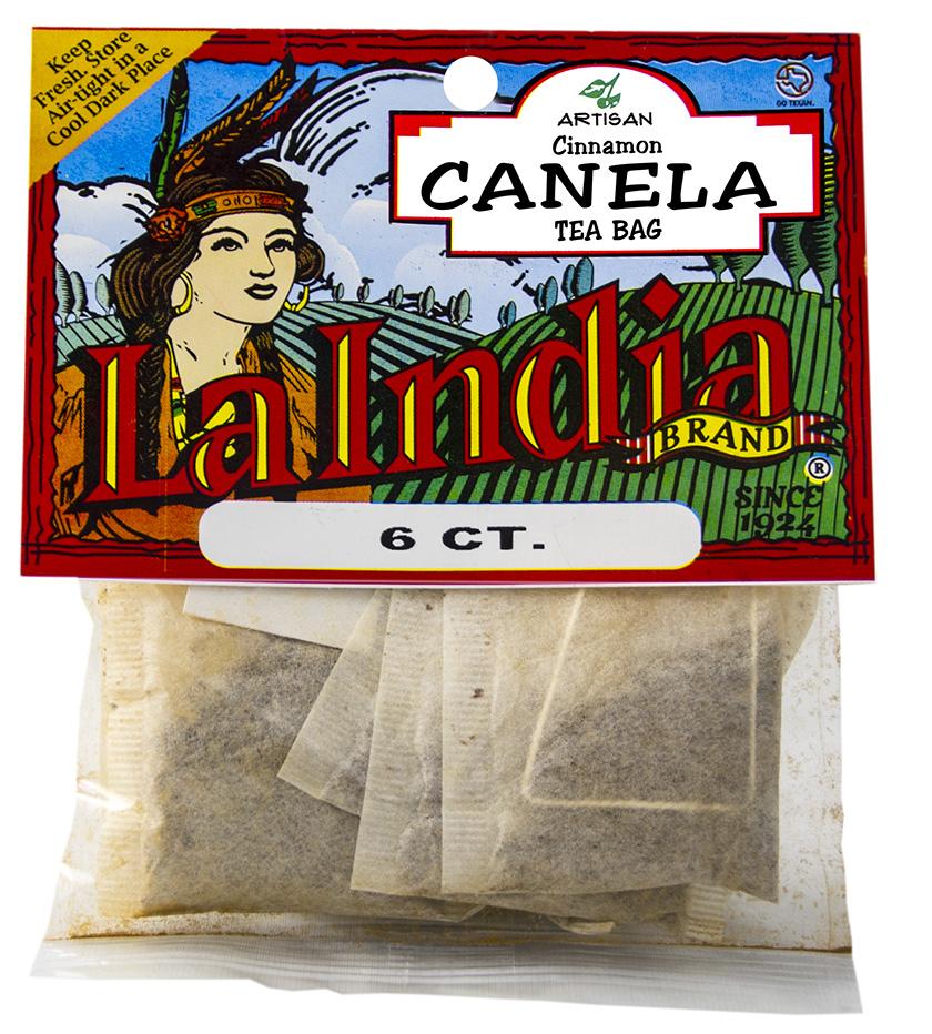 Cinnamon Tea Bags Cello Bags 6 units (each)