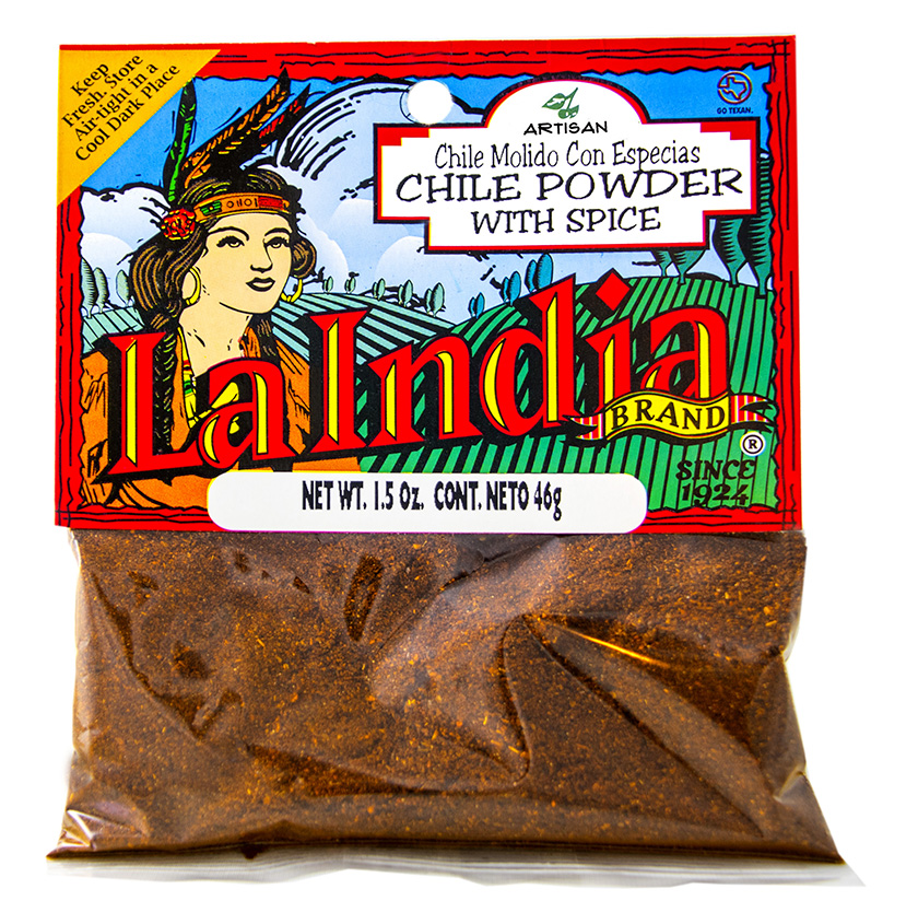 Chile Powder W/Spice Cello Bags (Unit)