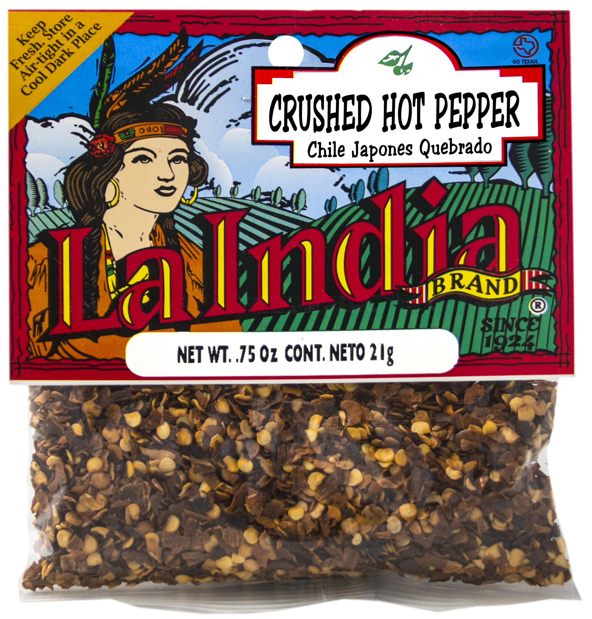 Hot Pepper Crushed Cello Bags (Unit)