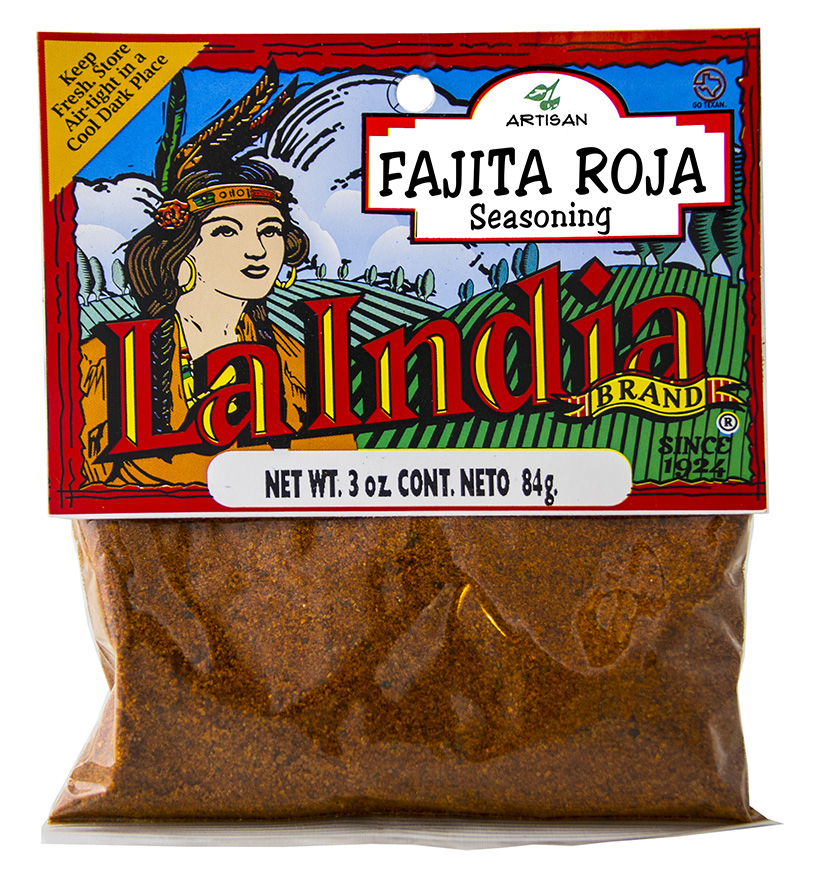 Fajita Roja Cello Bags 3.0oz (Unit)