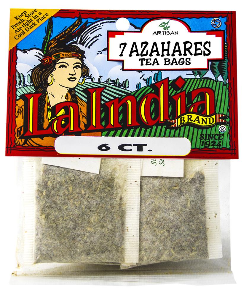 Siete Azahares Tea Bags Cello Bags 6 units (each)