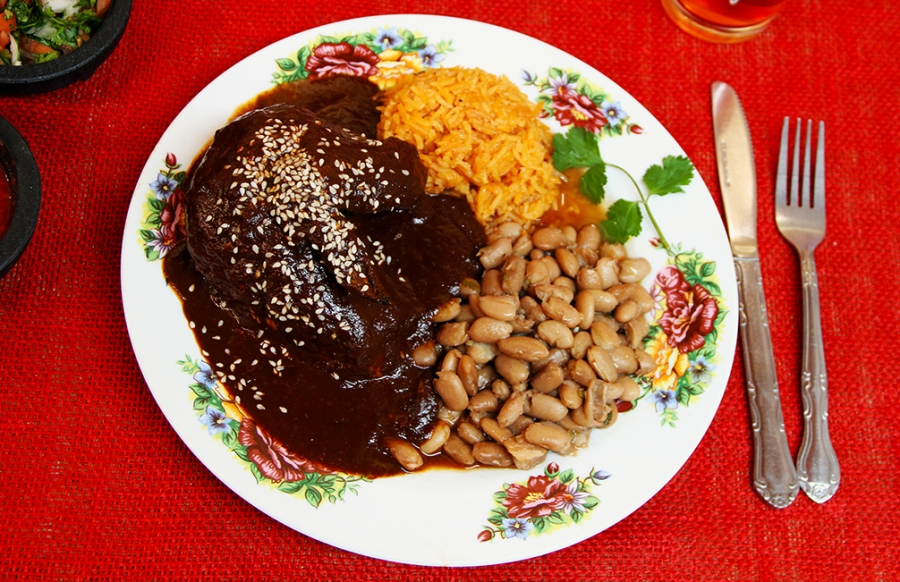 Our delicioso Mole Poblano, our staple product since 1924